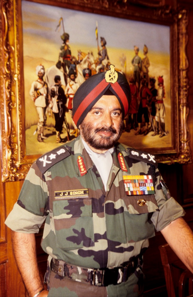 His Excellency General J. J. Singh