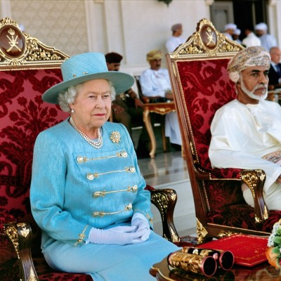 Her Majesty Queen Elizabeth II &  His Majesty Sultan Qaboos Qaboos bin Said al Said