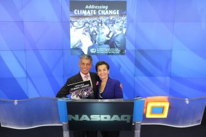 Henry Dallal & Christiana Figueres, Executive Secretary of the UNFCCC